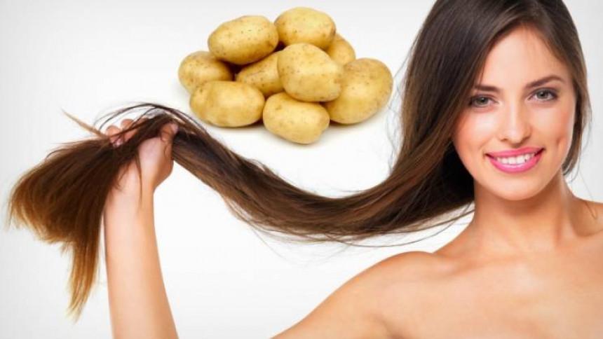 Krompir za kosu