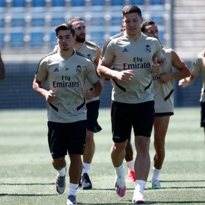 Jović se vraća u ritam, prelijep gol na treningu