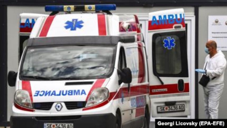 U S. Makedoniji umrlo još šest osoba, a 157 oboljelih