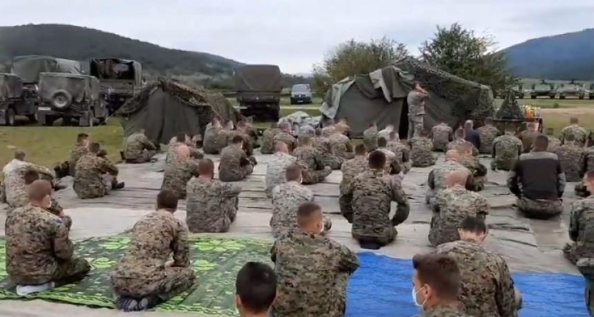 Vojni poligon nije mjesto za vjerske obrede