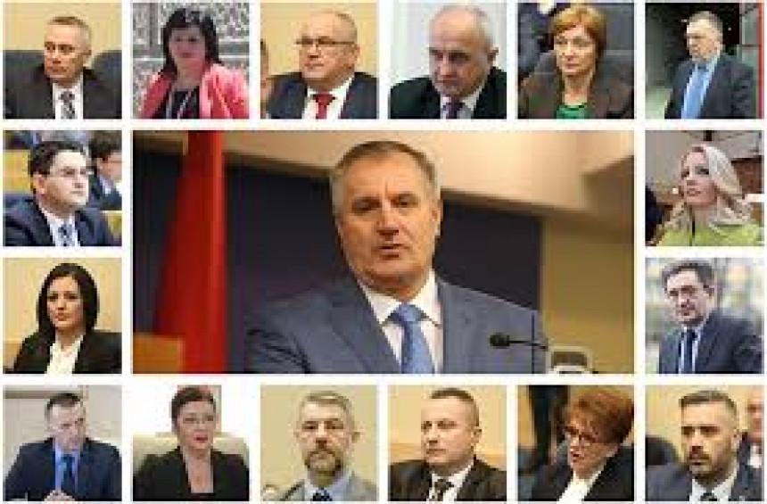 Nešto se dešava u Vladi: Ministri potpisali zajedničku izjavu o podršci Viškoviću