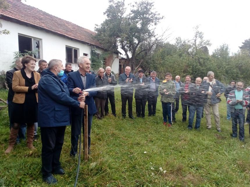 Otvoren vodovod za sela kod Rogatice i Sokoca