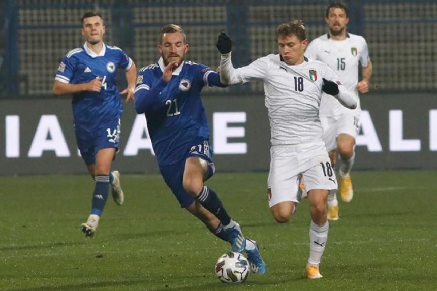 """Italija slavila na Grbavici, novi poraz """"zmajeva"""""""