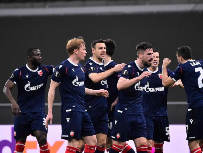 Milan zaustavio Crveno-bele u Ligi Evrope