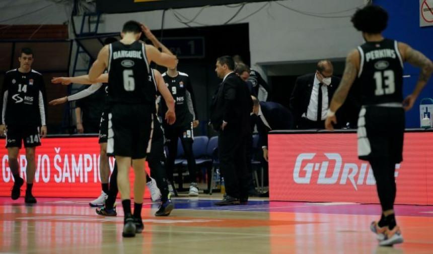 Košarkaši Partizana poraženi i ispali iz Evrokupa!