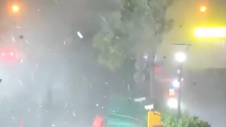 Oluja čupala stabla, rušila stubove i fasade (VIDEO)