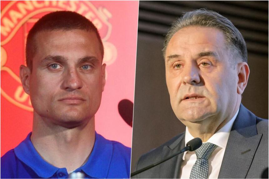 Vidić: Ljudima iz politike nije mjesto u srpskom fudbalu
