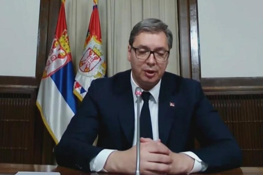 Vučićeva poruka u SB: Srbi glavu gore, ni Srbija ni srpski narod nisu osuđeni nizašta