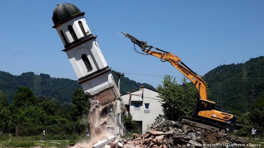 Rušenje crkve nije bilo u skladu sa dogovorom!