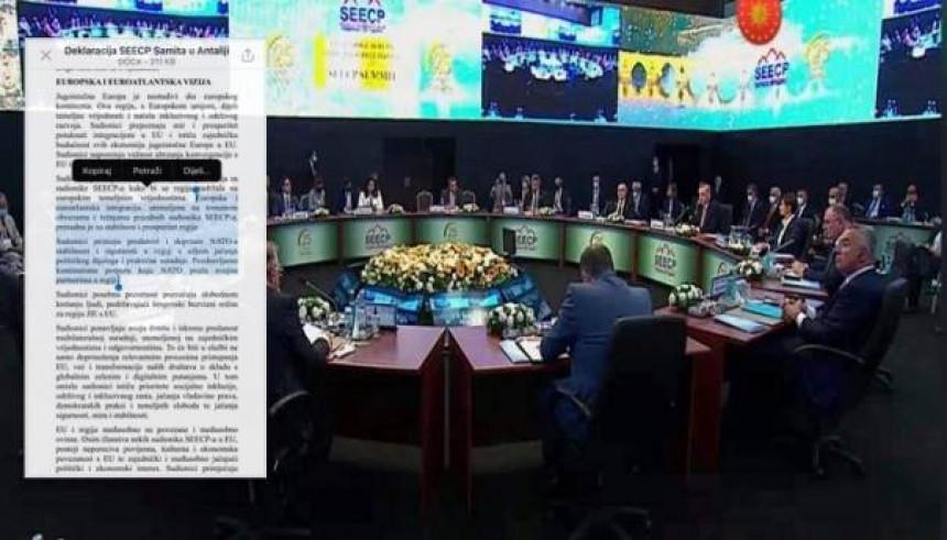 Додик још једном потврдио да је за НАТО. Ево шта је данас потписао у Турској!