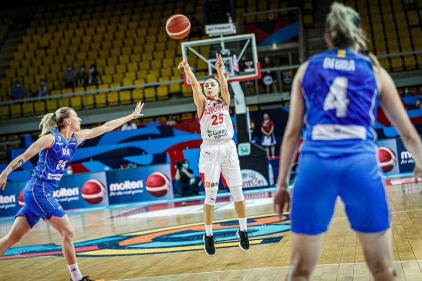 Košarkašice BiH pobijedile Tursku i ušle u nokaut fazu