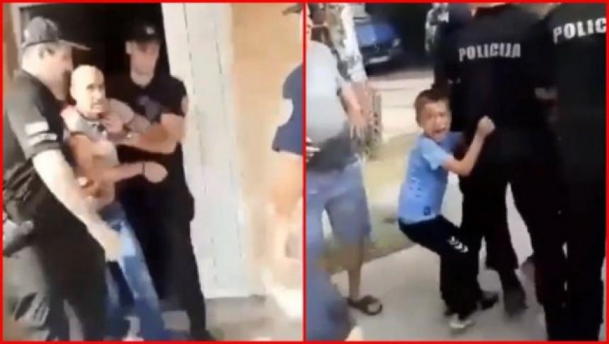 ЦГ: Протести због хапшења оца двоје дјеце (ВИДЕО)