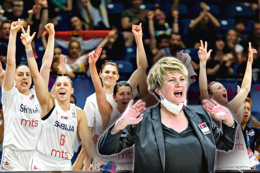 Košarkašice Srbije večeras igraju za polufinale EP!