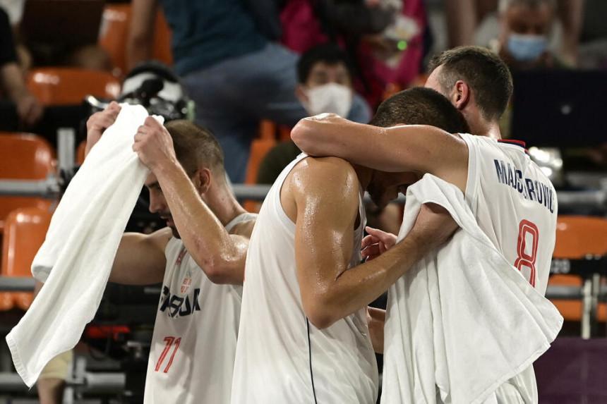 Basketaši Srbije osvojili bronzanu medalju u Tokiju
