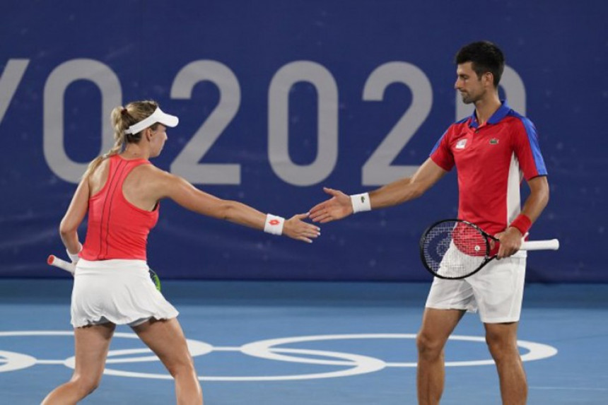 Novak i Nina idu po još jednu medalju u Tokiju