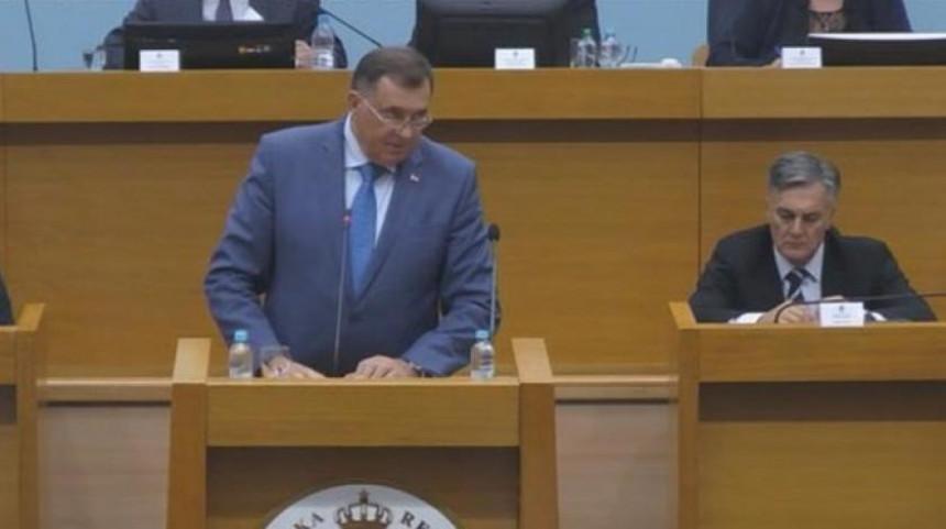 Dodik u NSRS ponovo pozvao na formiranje koncentracione vlade