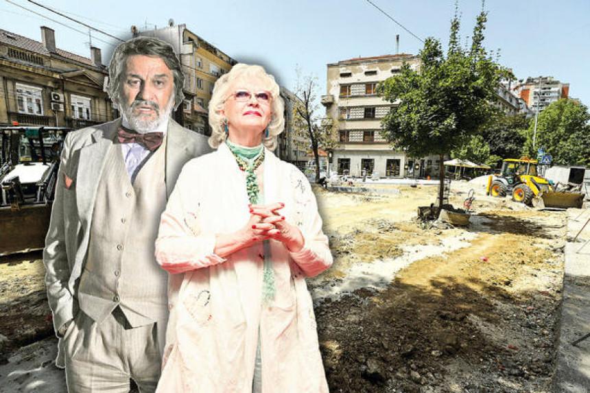 Na Vračaru se gradi trg Milene Dravić i Dragana Nikolića!