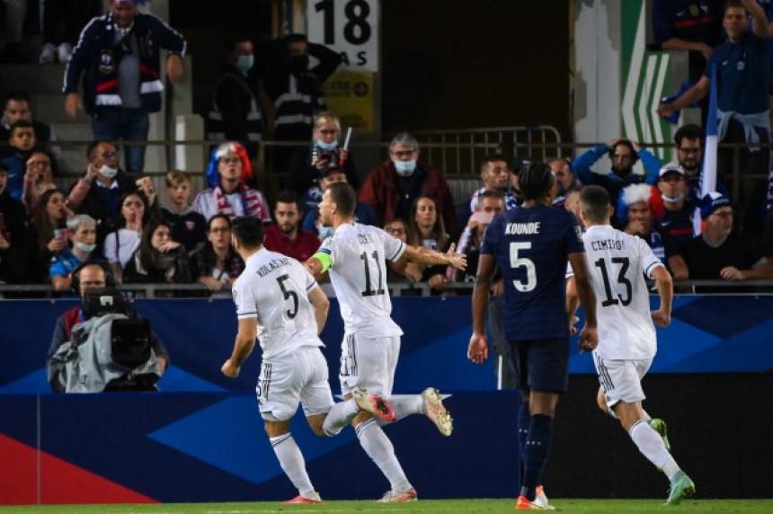 БиХ изненадила Француску неријешеним резултатом