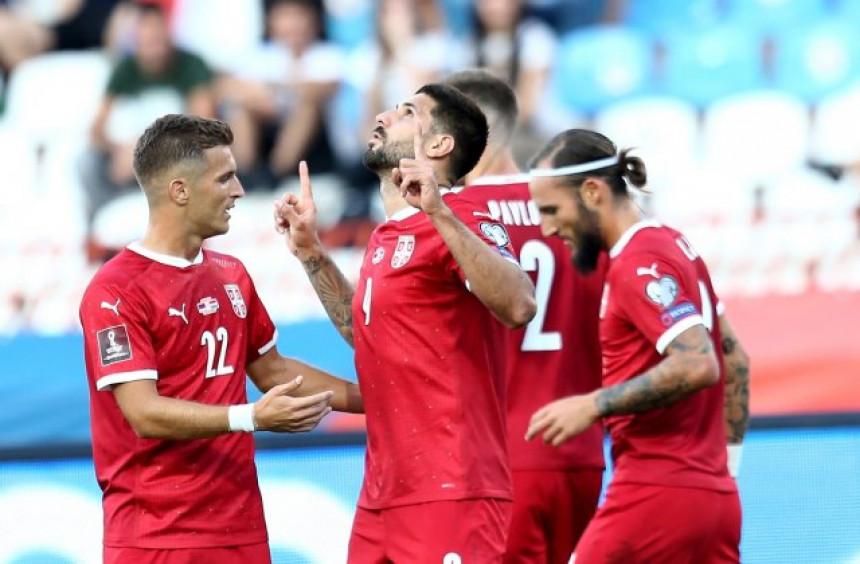 Србија савладала Луксембург, у уторак противник Ирска