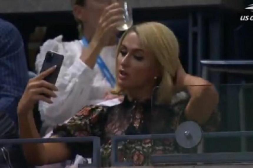Paris Hilton izazvala haos prisustvom na Novakovom meču