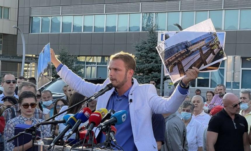"""Stanivuković: """"Odlučili su da nam usta zatvore, a sada hoće i oči da nam zatvore gašenjem BN televizije"""" (VIDEO)"""