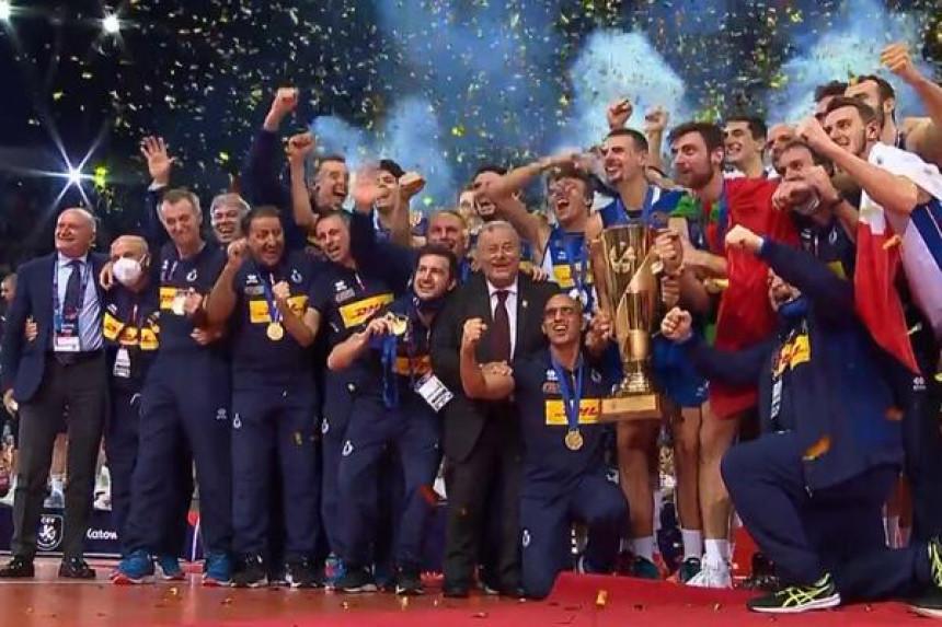 Словенија пала у петом сету: Италија шампион Европе