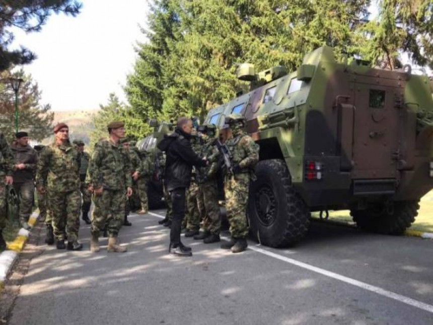 Vojska Srbije u prvom stepenu pripravnosti