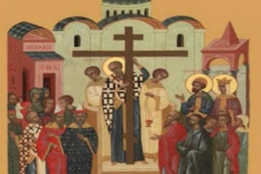 Данас Воздвижење Часног крста - Крстовдан
