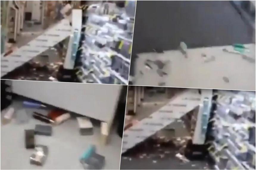 Snažan zemljotres u Grčkoj, ruševine na ulicama (VIDEO)