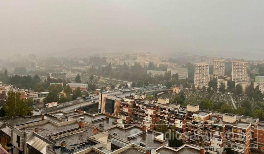 Jako nevrijeme pogodilo Sarajevo: Poplavljene ulice