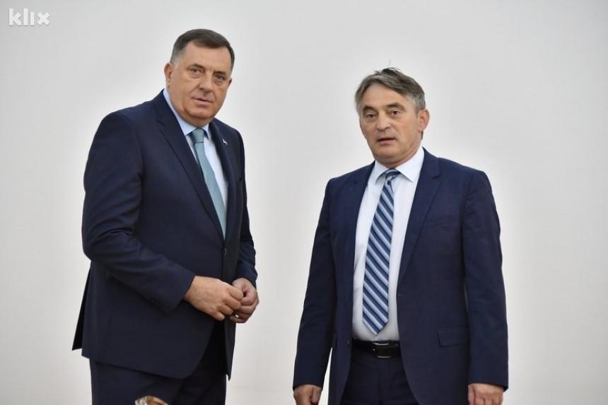 Dodik: Povlačimo saglasnost; Komšić: To je krivično djelo