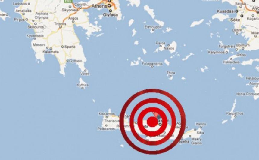 Tlo ne miruje: Novi snažan zemljotres zatresao Krit