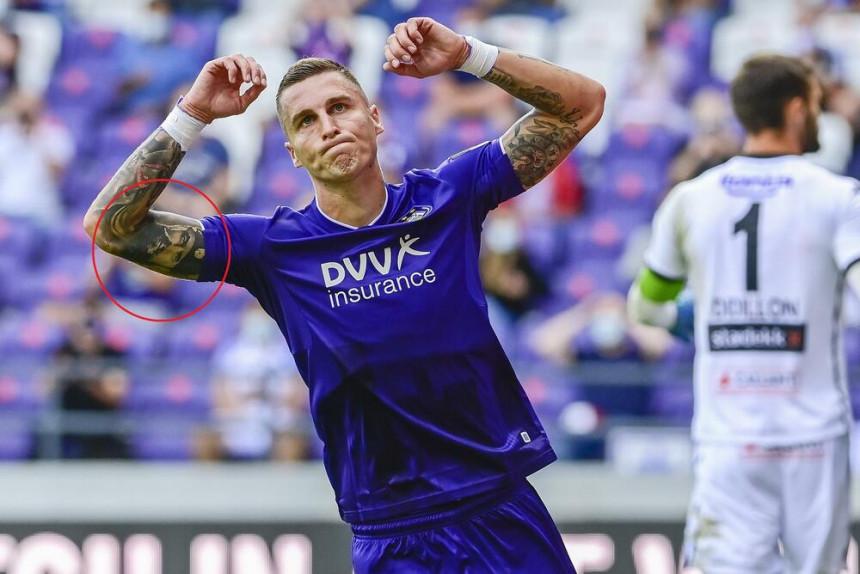 UEFA zabranila Vranješu da igra zbog tetovaže