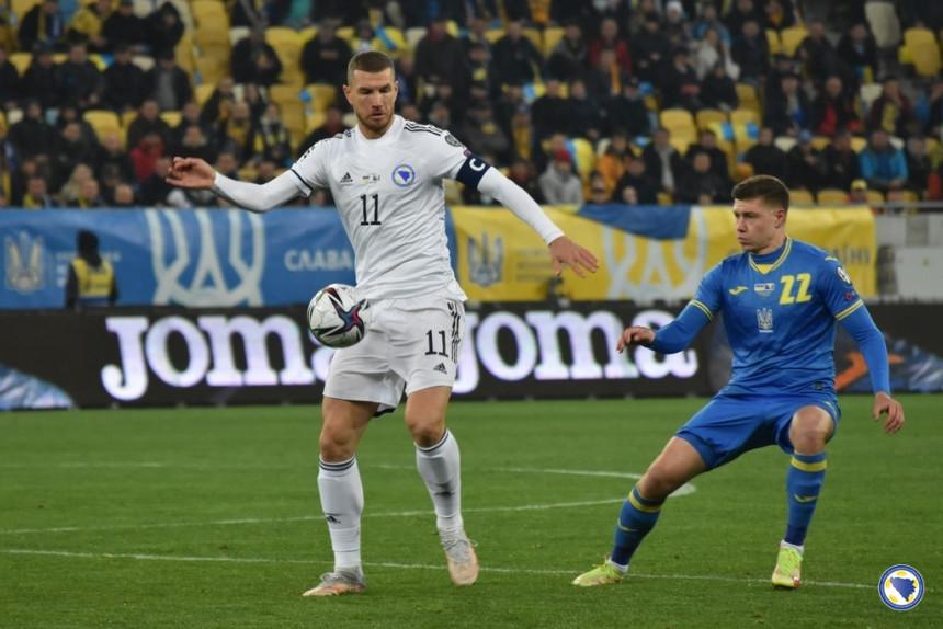 Reprezentacija BiH neriješeno sa Ukrajinom